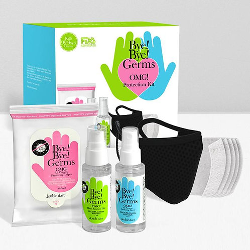Bye Bye Germs! Protection Kit 3pcs