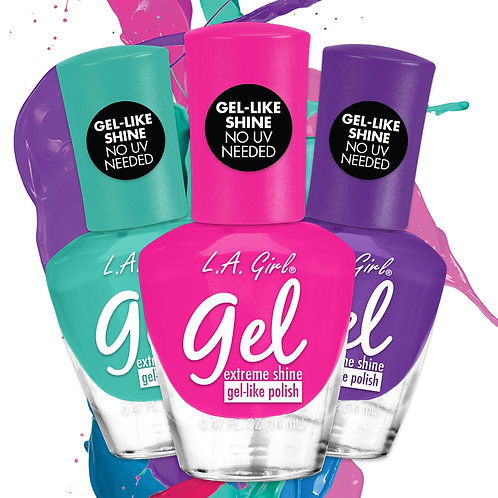 Gel Extreme Shine Polish CDU 168pcs