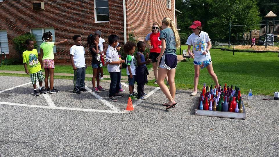 That's me playing carnival games in Atlanta three summers ago!