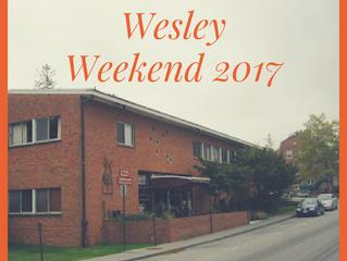 Wesley Weekend 2017