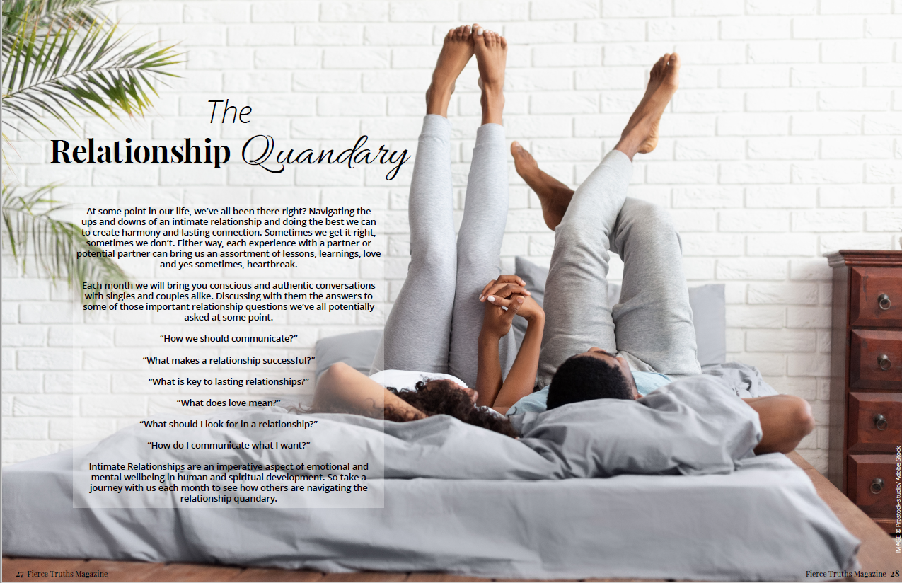 The Relationship Quandary - Fierce Truths Magazine