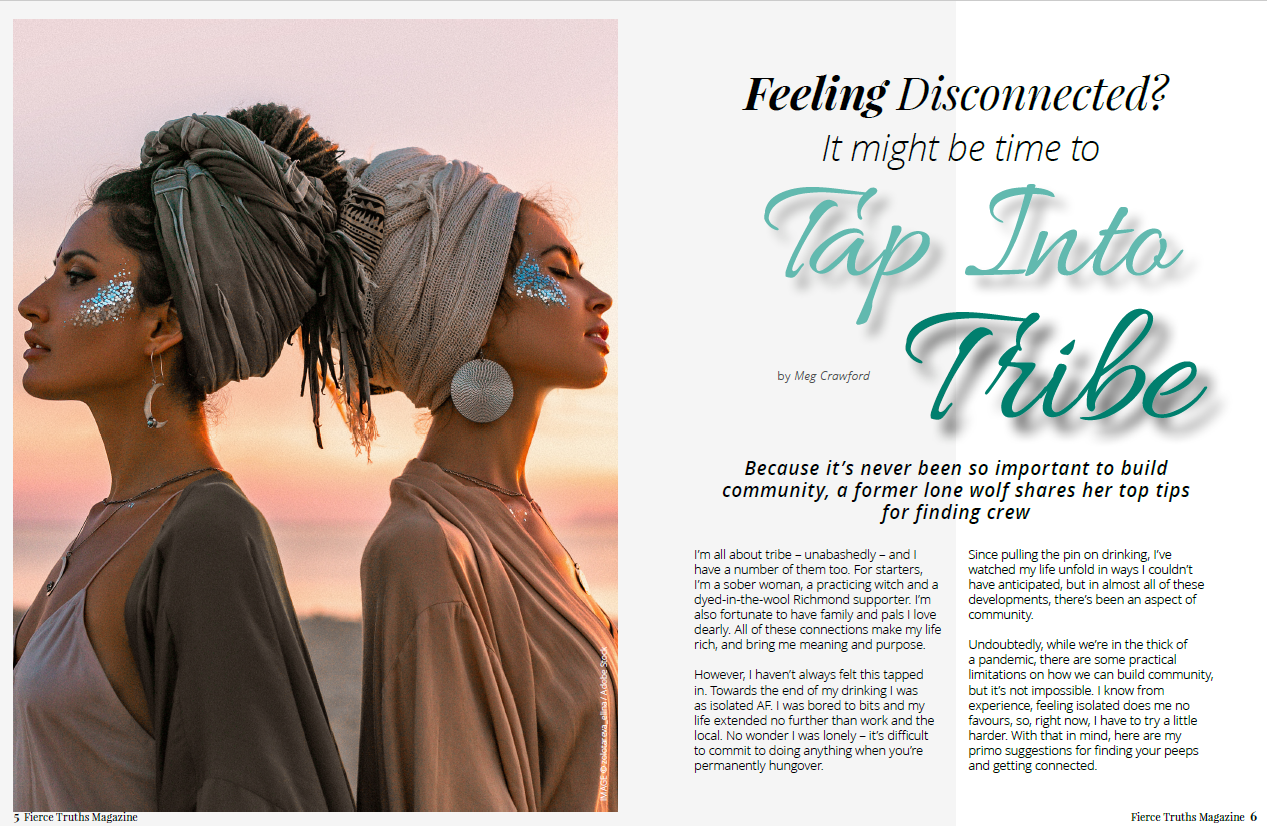 Tap into Tribe - Fierce Truths Magazine