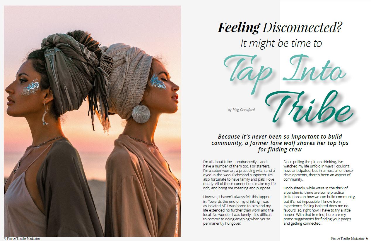 Tap into Tribe - Fierce Truths Magazine