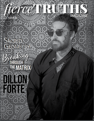 fierce truths magazine - dillon forte in