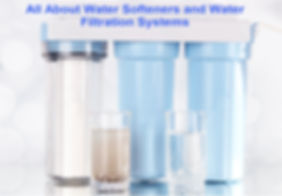 water softeners and filtration systems