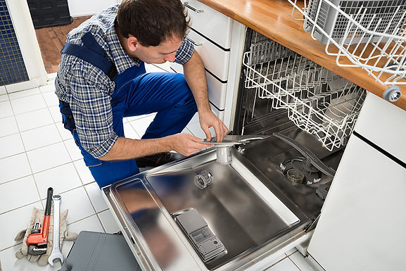 dishwasher repair man, dishwasher leaks and malfunctions, common dishwasher problems, causes of dishwasher leaks, how to fix my dishwasher
