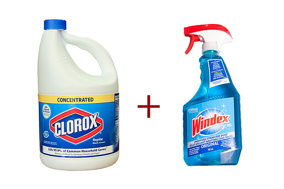 chlorine and ammonia, mixing household chemicals, danger of mixing household cleaning products, cleaning product dangers, which chemicals not to mix