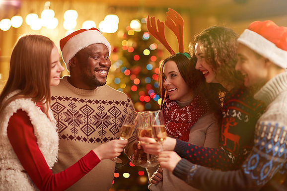 christmas party cheers, avoid holiday plumbing problems, holiday plumbing tips, drain clog during holidays, plumbing problems during holidays