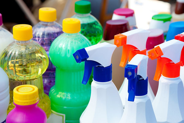 Clogs And Drain Cleaning Selection Of Commercial drain cleaner, chemical drain cleaner