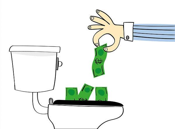 low flow toilets save money