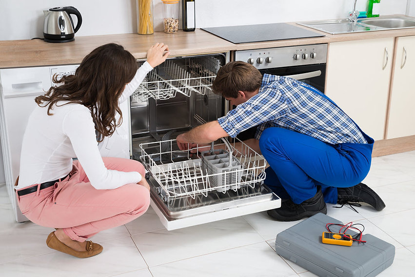 water softeners and filtration, dishwasher leaks,