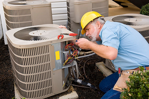 A/C repair man, signs your air conditioner is dying, A/C dying, clues your air conditioner is dying, broken air conditioner, when to replace air conditioner, replace A/C