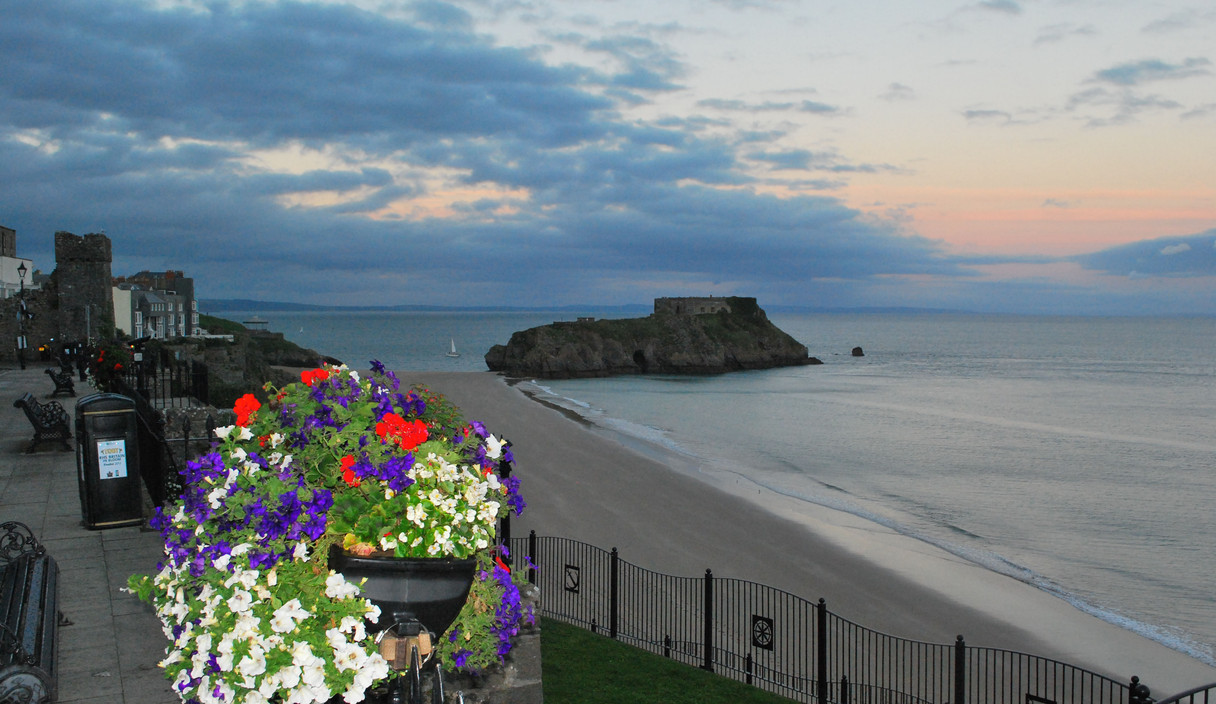 Tenby at Twilight