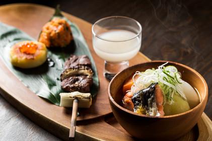 アイヌ伝統食セット(要予約)