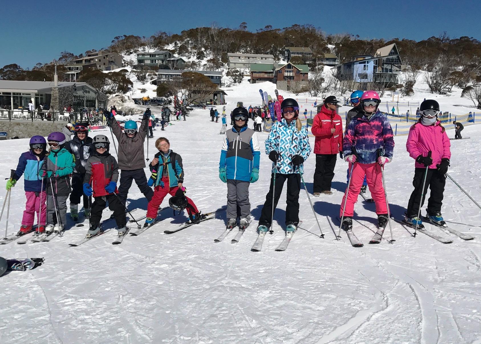 School Sport Skiing
