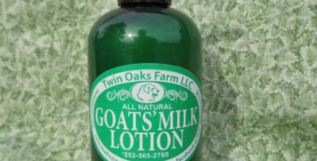 Goats' Milk Lotion, 8 oz.