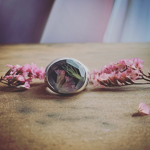 Pink Sea Lavender- Apple Moss Cigar Band