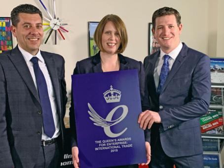 Aviation News Ltd on cloud nine with international trade accolade