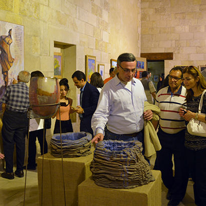"Exhibition in Sultan Qaitbey's building, ""City of the Dead"" - ARCHiNOS"