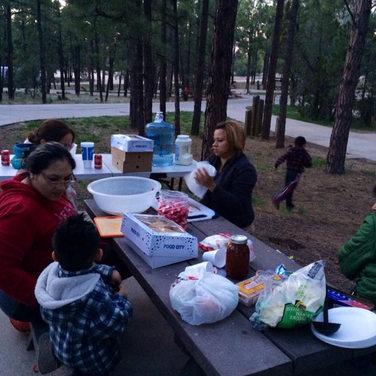 Viaje de campamento anual
