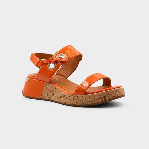 Sandalle clip orange  Mam'Zelle