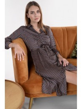 Robe chemise graphique - Molly Bracken