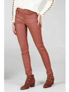 Pantalon slim enduit - Molly Bracken
