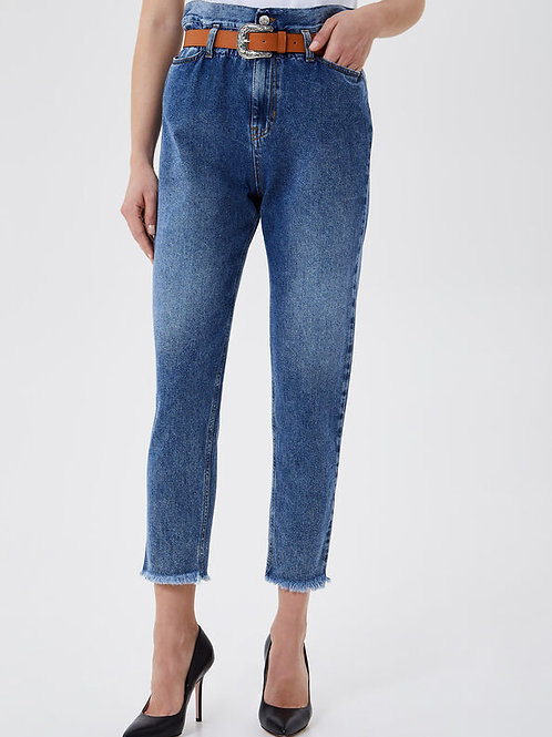 Jeans taille haute LIUJO