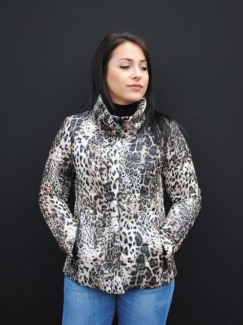Doudoune léopard KILIA KOCCA