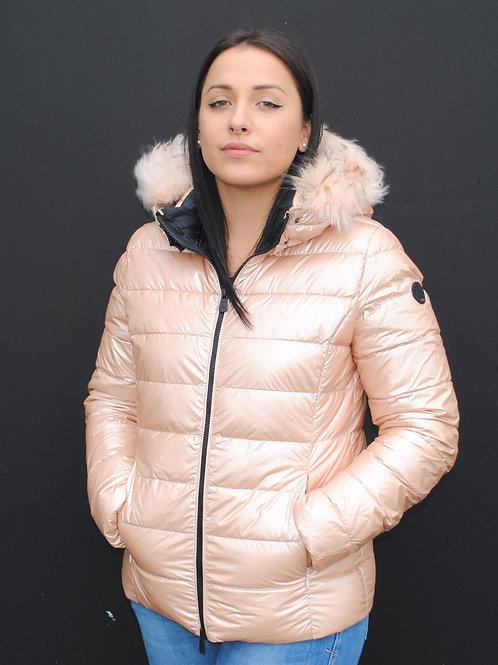 Doudoune Luxe Rose Métallique JOTT