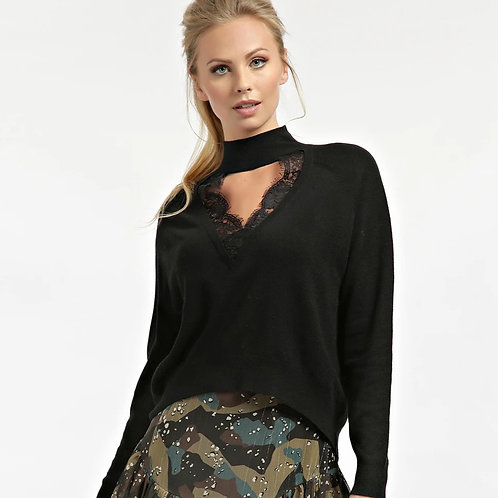 Pull GUESS col dentelle