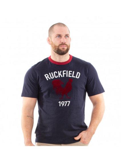 T-shirt vintage bleu - Ruckfield