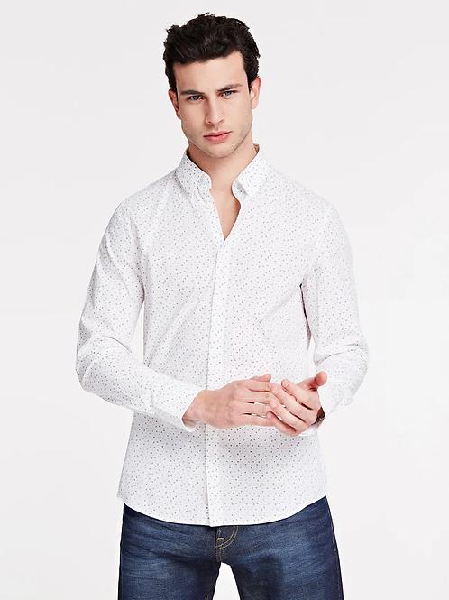 Chemise blanche imprimée - Guess