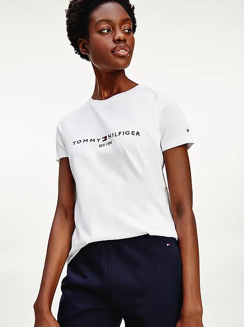 T-shirt Logo blanc - Tommy Hilfiger