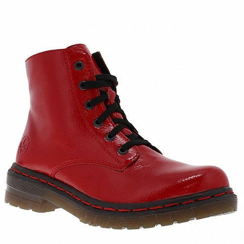 Rieker Boots rouge