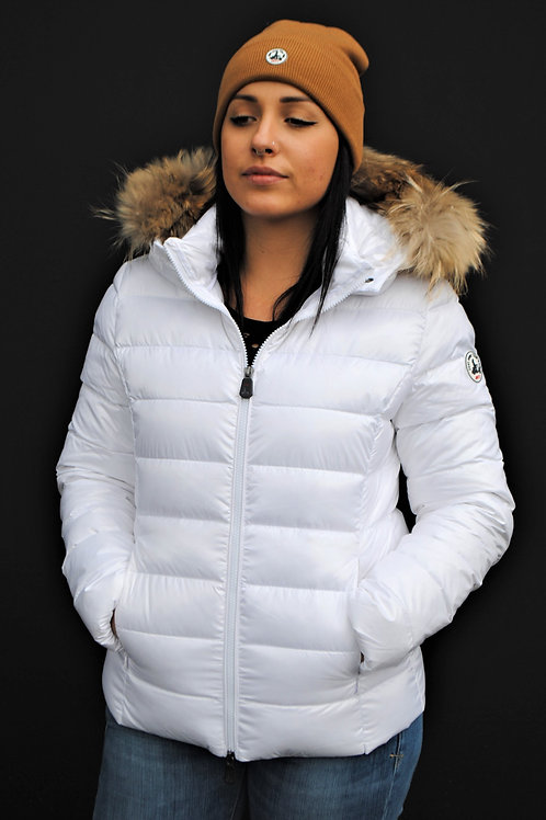 Doudoune Luxe blanc brillant JOTT