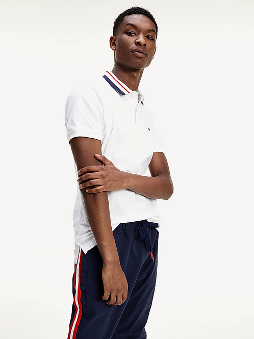 Polo Blanc Tommy Hilfiger Jeans