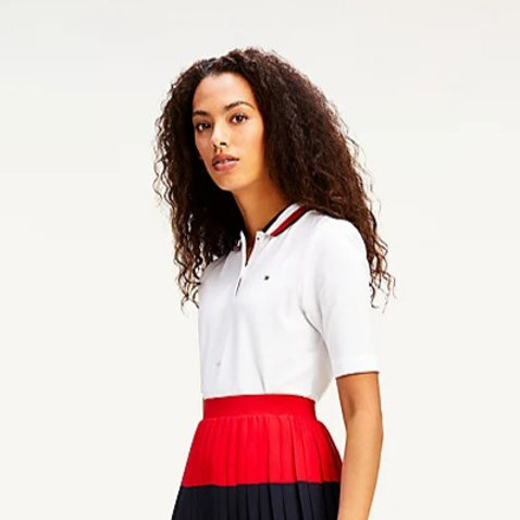 Polo manches mi longues- Tommy Hilfiger