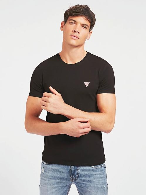 T-shirt super slim fit noir - Guess
