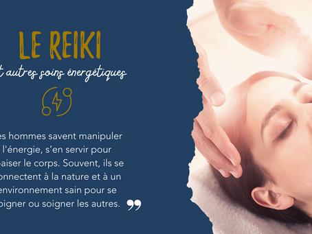 Reiki et autres soins énergétiques