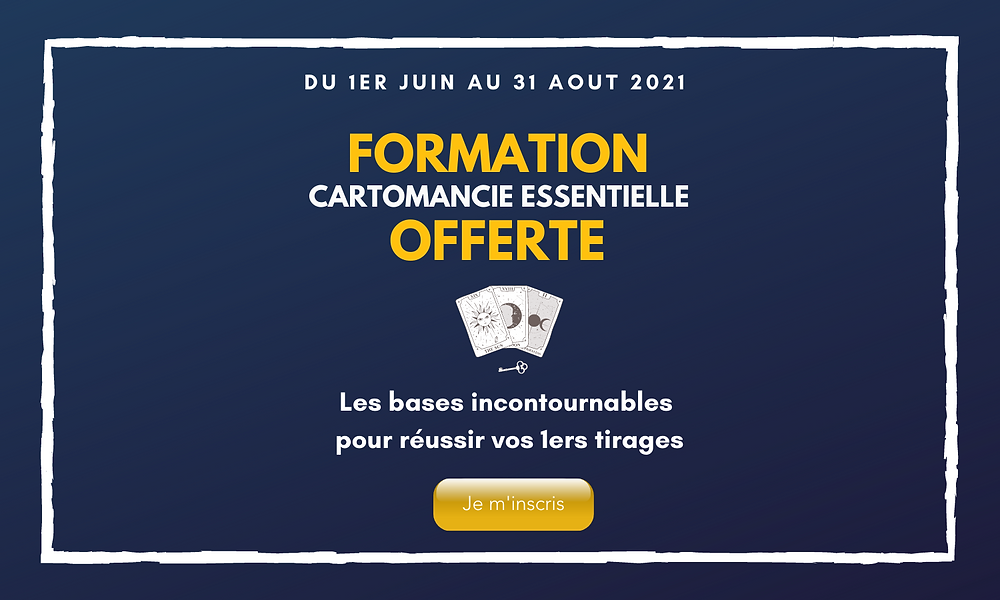 formation offerte cartomancie