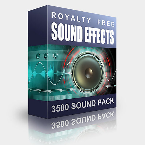 Pro Sound Pack - 3500 Sound Effects