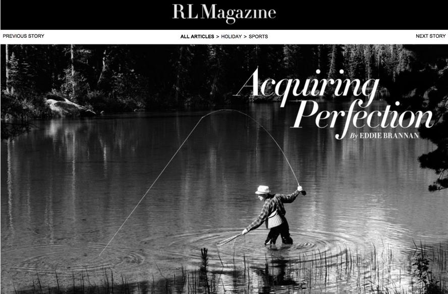 RL Ralph Lauren Magazine Fly Fishing