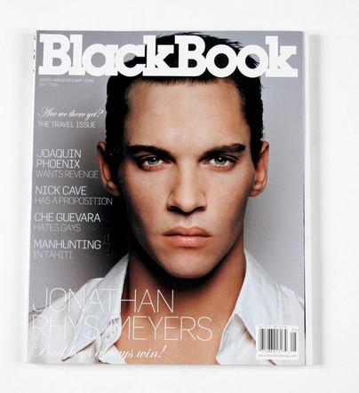 BlackBook jonathan rys meyers