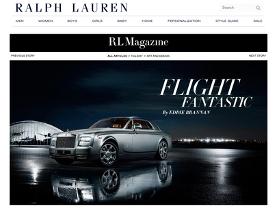 RL Ralph Lauren Magazine