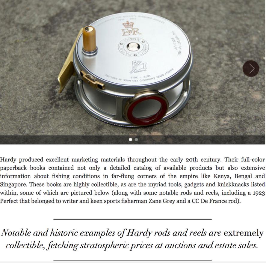 RL Ralph Lauren Magazine Hardy Rod