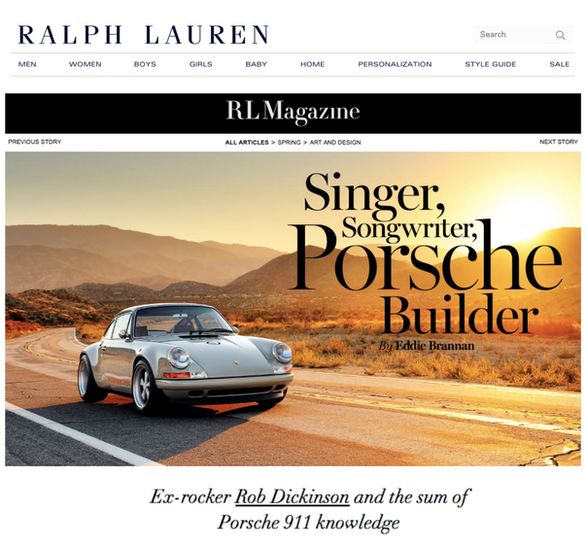 RALPH LAUREN RL MAGAZINE