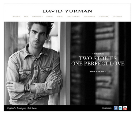 David Yurman Valentine's Day