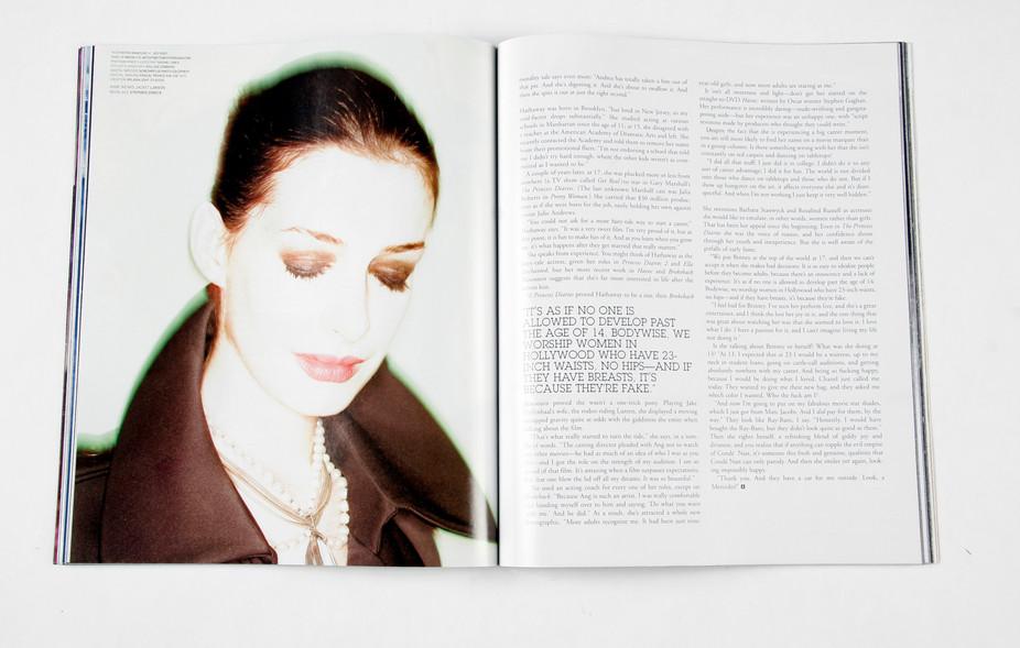 BlackBook Anne Hathaway