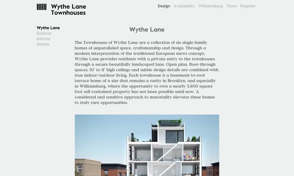 Wythe Lane Brooklyn